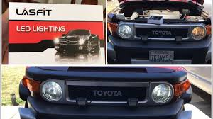 how to install led headlight fj cruiser from lasfit how to replace