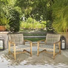 wicker patio furniture you ll wayfair