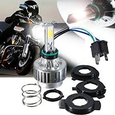 motorcycle headlights ambother h4 led headlight hi lo
