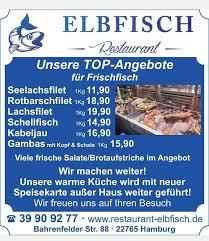 im restaurant elbfisch restaurant hamburg deutsche