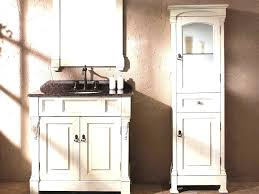 Bathroom Vanity With Tower Pictures bathroom vanity with tower and corner linen cabinet home design