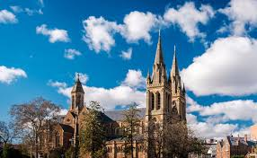 Gothic Style St Peters Cathedral In Adelaide
