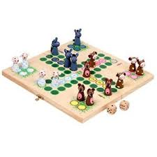 Image Is Loading Ludo Farm Animal Game Traditional Wooden Board