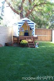 Backyard Decorating Ideas Pinterest by Best 25 Backyard Playhouse Ideas On Pinterest Playhouse Slide