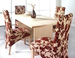 Dining Room Chair Covers Pattern Cover Patterns Impressive Patterned