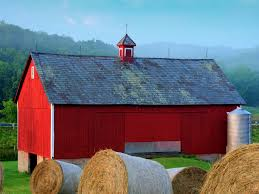 Here's Why Barns Are Painted Red - Business Insider Barn Wikipedia Heart Native Son The Shrine Barns Of Richland County Area History Why Are Traditionally Painted Red Youtube 25 Unique Patings Ideas On Pinterest Pottery Barn Paint Best Garage Door Cedar A Survey Upstater 230 Best Watercolor Old Buildings Images And Style Sheds Leonard Truck Accsories House That Looks Like Red At Home In The High