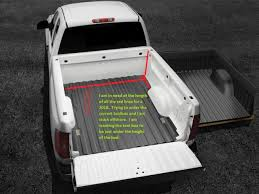 100 Pickup Truck Bed Dimensions 2018 Tundra CrewMax Bed Measurements Toyota Tundra Forum