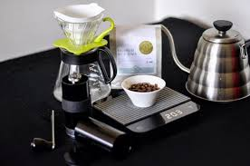 A Scale Can Be Used To Weigh Coffee Water And The Final Brew Credit Danny Tan