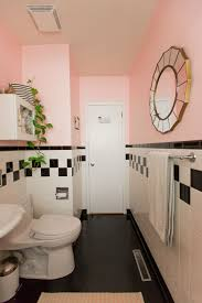 Retro Pink Bathroom Decor by Before After My Itty Bitty Pink Bathroom Makeover U2013 Sabrina