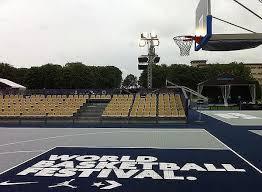 terrain de basket exterieur dalle plastique pour terrain de basketball revêtement en