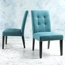 Beautiful Teal Fabric Dining Chair Room Chairs