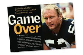 Steelers Pumpkin Carving Patterns by Before U0027concussion U0027 Mike Webster U0027s Shattered Life Reader U0027s Digest