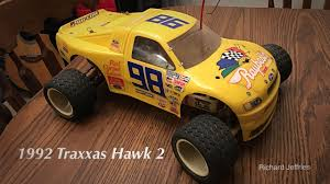 1992 Traxxas Hawk 2 RC Stadium Truck - YouTube Traxxas Rustler 2wd Stadium Truck 12twn 550 Modified Motor Xl5 Exc Traxxas 370764 110 Vxl Brushless Green Tuck Rtr W Traxxas Stadium Truck Youtube 370764rnrs 4x4 Scale Product Wtqi 24ghz 4x4 Brushless And Losi Rc Groups 370761 1 10 Hawaiian Edition 2wd Electric Blue Tra37054