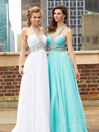 spring evening dresses madison james prom gowns halter beads