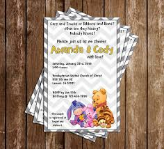 Winnie The Pooh Baby Shower by Novel Concept Designs Copy Of Winnie The Pooh Gender Secret