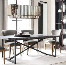 Restoration Hardware Dining Room Chairs Tables Leather
