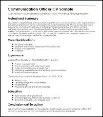 Communications Resume Template Best Executive Templates