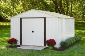 Arrow Woodridge Steel Storage Sheds by Arrow Arlington Shed Ar1012