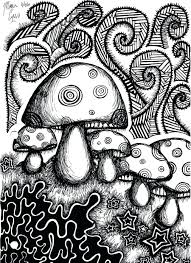 Coloring Pictures For Adults Flowers Printable Psychedelic Pages To Do Online Geometric Full Size