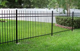 Decorative Garden Fence Panels by Ornamental Iron Fence Panels Fences Pip Plain Panel Wrought