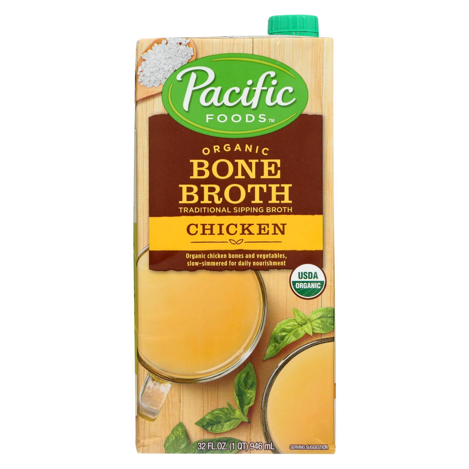 Pacific Foods Organic Bone Broth - Original Chicken, 32oz