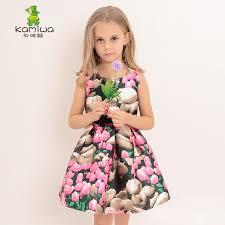 aliexpress dress girls 3 6 8 10 12 years printing