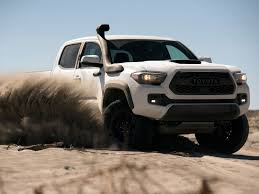 2019 Toyota Tacoma TRD Pro Gets Snorkel So It Doesn't Choke On Sand ... Toyota Alinum Truck Beds Alumbody Yotruckcurtainsidewwwapprovedautocoza Approved Auto Product Tacoma 36 Front Windshield Banner Decal Off Junkyard Find 1981 Pickup Scrap Hunter Edition New 2018 Sr Double Cab In Escondido 1017925 Old Vs 1995 2016 The Fast Trd Road 6 Bed V6 4x4 Heres Exactly What It Cost To Buy And Repair An 20 Years Of The And Beyond A Look Through Cars Trucks That Will Return Highest Resale Values Dealership Rochester Nh Used Sales Specials