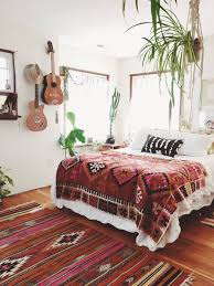 36 Boho Rooms With Too Many Prints In A Good Way Bohemian DecoratingWhite DecorBohemian