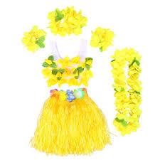 Amazoncom BESTOYARD 6Pcs Tropical Hula Grass Skirt