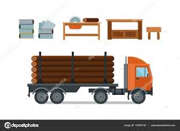 Woodworking Cartoon Tools Icons Vector Illustration — Stock Vector ...
