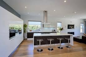 hotte de cuisine centrale table ilot cuisine centrale 14 id233es de cuisine moderne