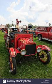 100 Model T Fire Truck 1918 Ford Fire Ruck Stock Photo 218406705 Alamy