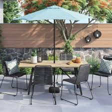 Target Patio Set With Umbrella by Cadima 2 Pk Patio Dining Chair With Arms Project 62 Target