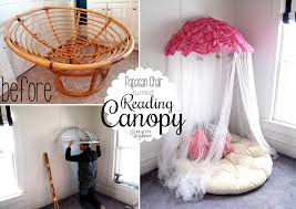 Double Papasan Chair Frame by Old Papasan Turned Into A Papasan Canopy Reading Nook