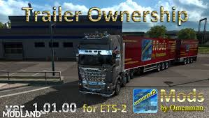 Trailer Ownership By Omenman V 1.01.00 Mod For ETS 2 Truck Driver Is The First Trucking Simulator For Ps4 Xbox One Trailer Games Play Free Pack V100 For Ats American Mods Game Rider Nj 3d Next Weekend Update News Indie Db Europe 2 Hd Android Games Download Free Heavy Car Transport 16 Gameplay Dailymotion Birthday Parties In Los Angeles Party Ideas Kids Ca Video Game Gallery Levelup Fs17 Krampe Road Train Mod Farming Simulator 2019 2017 2015 Scania Trjl Doubledeck Jupiter Ascending Combo Skin