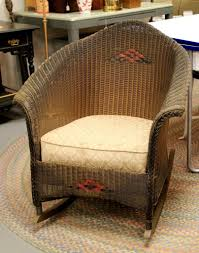 15 Best Collection Of Antique Wicker Rocking Chairs With Springs