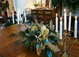 floral arrangements for dining room table with worthy silk flower