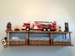 A Shelf Built By My Hubby To Look Like A Fire Truck Ladder For Our ... Fireman Wall Decal Firetruck Nursery Wall Art Fire Engine Visits Tynemouth At Billy Mill Beddings Car Crib Bedding Beddingss On Boutique Truck Large Vtg Fisher Price Little People Lot Of 76 Nursery Fire Truck Sisi And Accsories Baby 104367 Fire Truck Toddler Toys Online Shoes Alice Joseph Kids Store Pictures To Print 2251872 Boy Red Navy Blue You Are Vancouver Firefighter Shower The Queen Showers