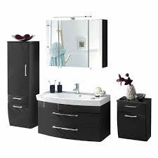 hochglanz anthrazit bad möbel set boisan inklusive 3d spiegelschrank 4 teilig