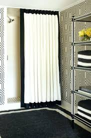 Restoration Hardware Estate Curtain Rods by Shower Curtains Shower Curtain Rod Ideas Bathroom Decorating