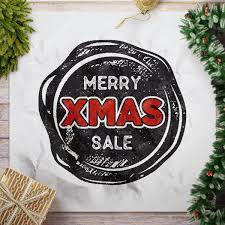 Christmas Seal SVG Cut Holiday Vector Design Xmas Sale Etsy