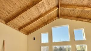 104 Wood Cielings Cabin House Build Episode 9 How We Build And Finish Ceilings Ana White