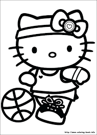 Inspiring Hello Kitty Printable Coloring Pages Print Pictures To And Color Last Updated On Kids