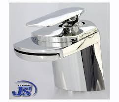 waschtisch armatur design wasserfall messing f bad wc js