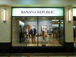 Shop Fashionable Retail On Dubai 3 March 2011 Banana Republic Fashion Store In Deira
