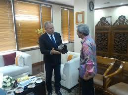 mofa indonesia auf viceministerfachir met the