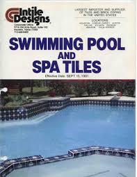 Noble Tile Supply Phoenix Az by Little Tile Inc Little Tile Inc Is Your Source To Vintage Pool