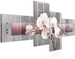 bild blumen orchidee 200 x 100 cm kunstdruck vlies