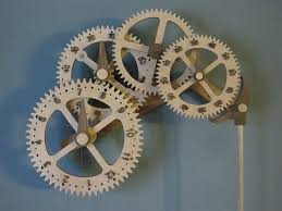 wooden gear clock plans free download