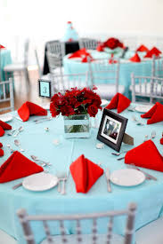 Tiffany Blue And Red Wedding Inspiration